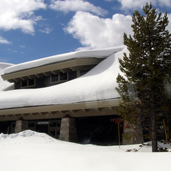 Guests visiting Yellowstone National Park can find lodging in Wyoming.