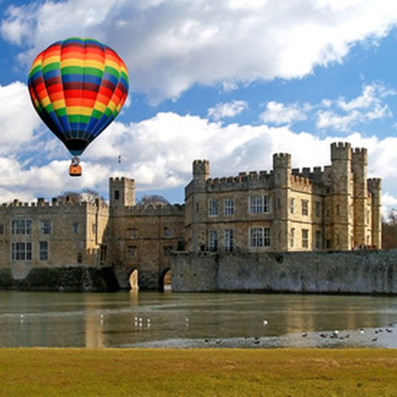 Leeds Castle is one of the most popular castels in Europe.