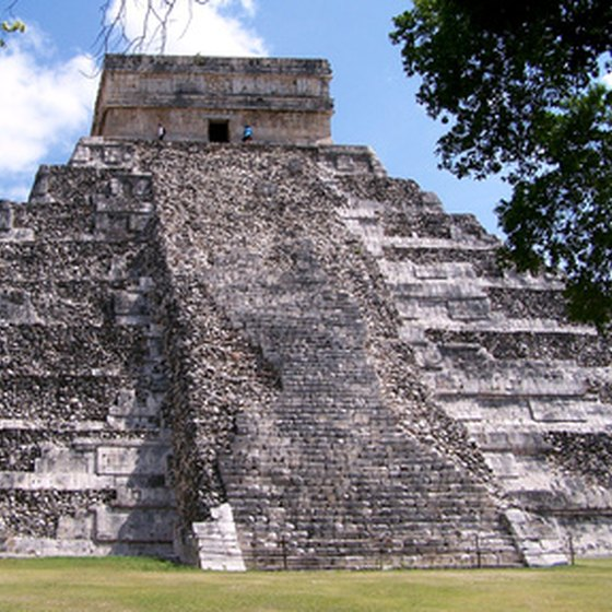 Chichen Itza's pyramids rank among the world's wonders.
