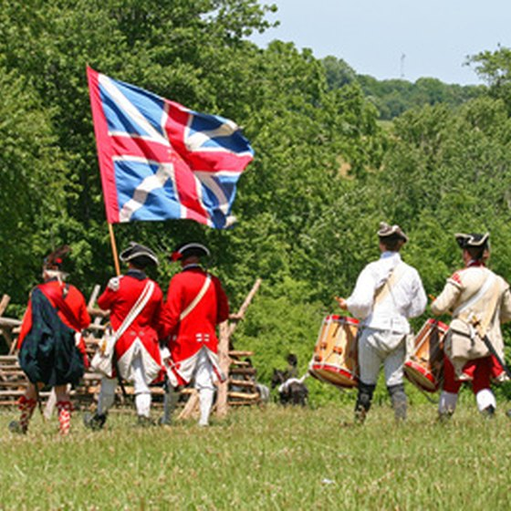 Witness historic re-enactments at Northern New Jersey parks.
