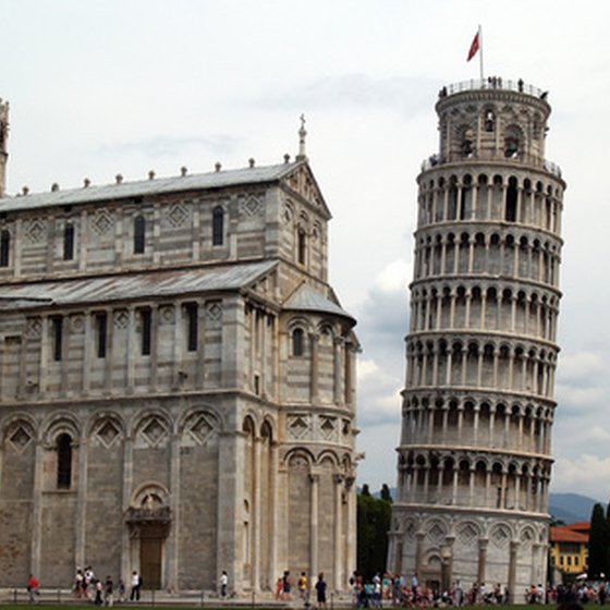 The Leaning Tower of Pisa is just one of the many famous landmarks of Italy.