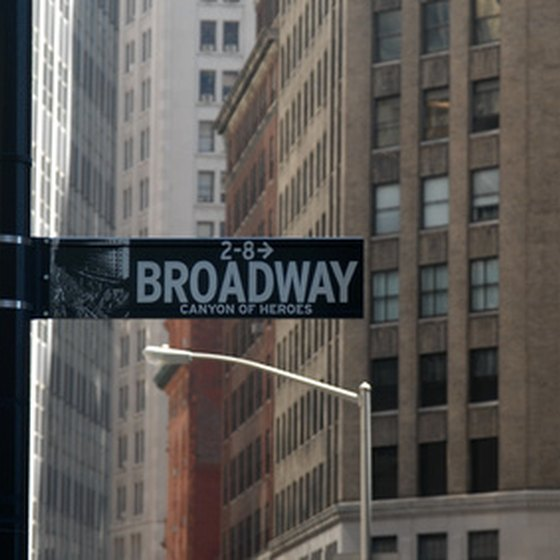 Broadway is the main shopping artery in Greenwich Village.