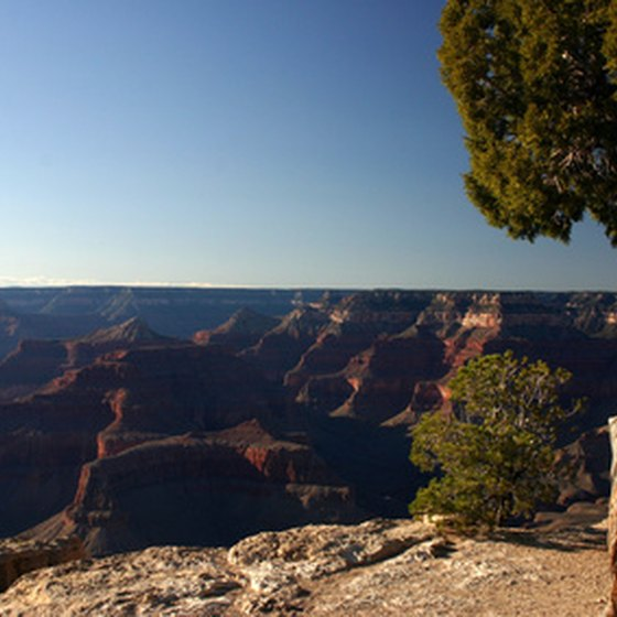 Take your time enjoying the natural beauty of the Grand Canyon.