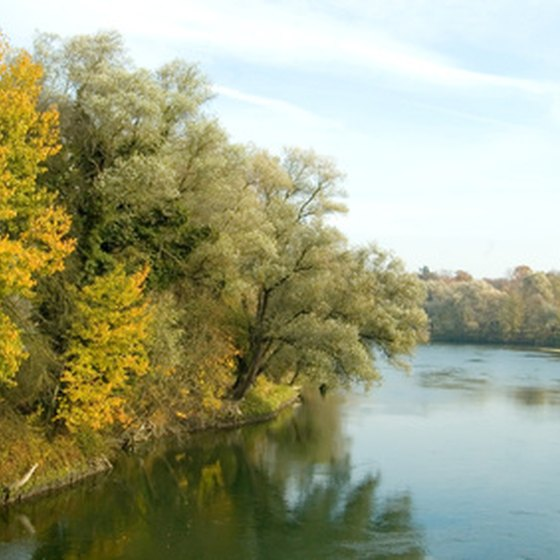 Many educational tours in Germany take in the Danube River.