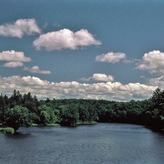 Follow the scenic St. Croix River to Taylors Falls.