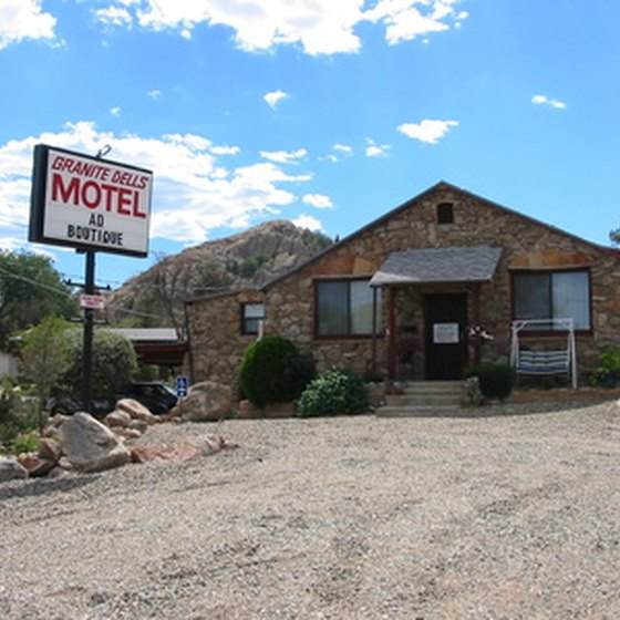 Motels originated as roadside inns for weary travelers.