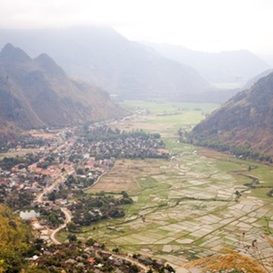 Many tours include the mountains of Vietnam.