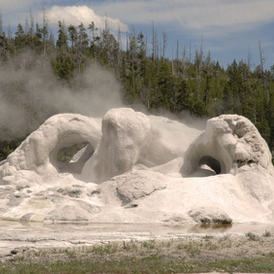 Natural wonders abound in Yellowstone National Park.