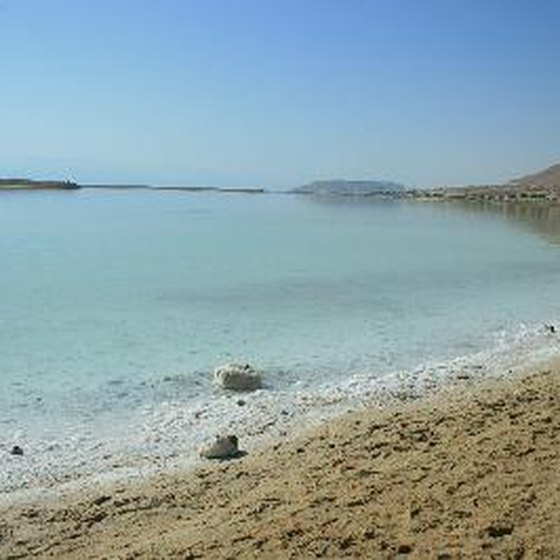 Although the Dead Sea is landlocked, it's often an excursion on cruises.