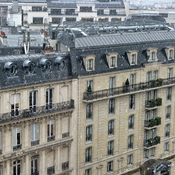19th century architecture in Paris, France