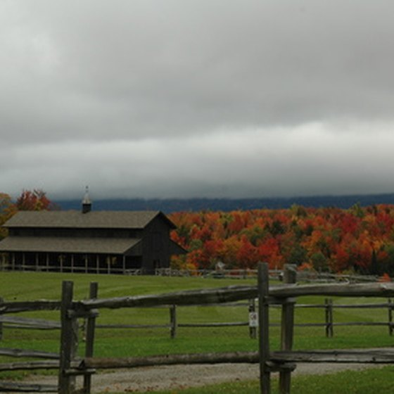 Vermont's countryside draws thousands of visitors to see the fall colors.