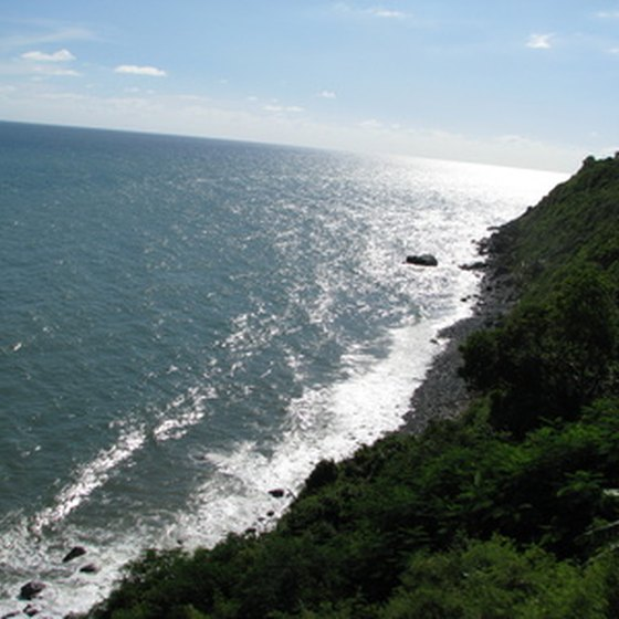 Puerto Rico's terrain includes rain forests, mountains and beaches.