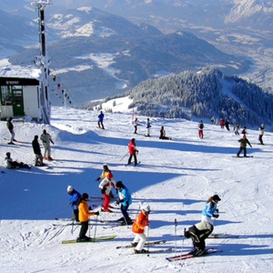 Washington is host to many ski resorts throughout the Cascades.