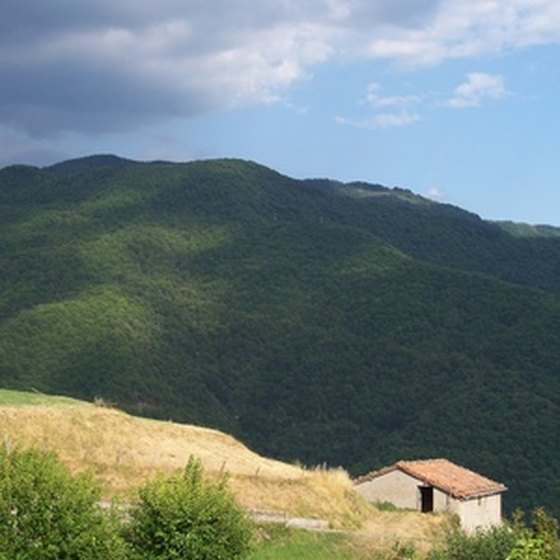 Secluded, country get-aways in Italy offer peace, quiet and rest.