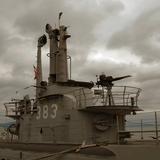 The USS Pampanito was featured in the film Up Periscope.