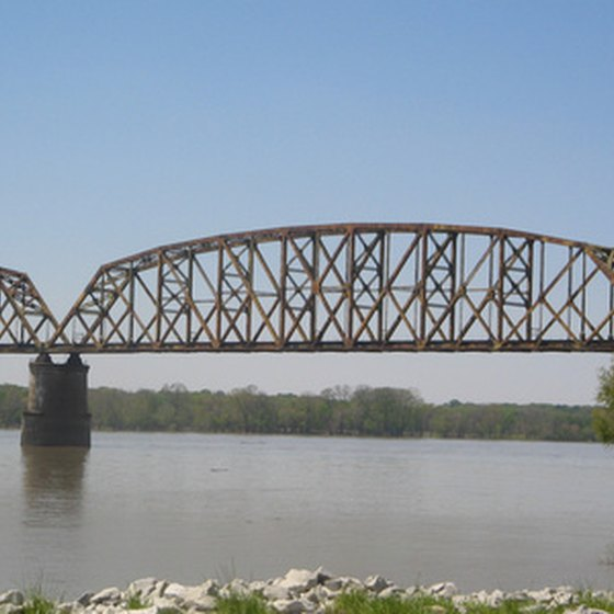 Bridge over the Ohio River.