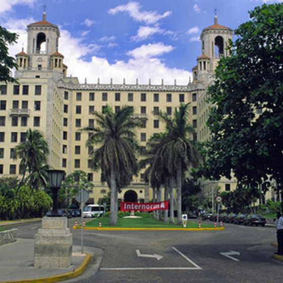 An all-inclusive resort package is easy to find in Havana.