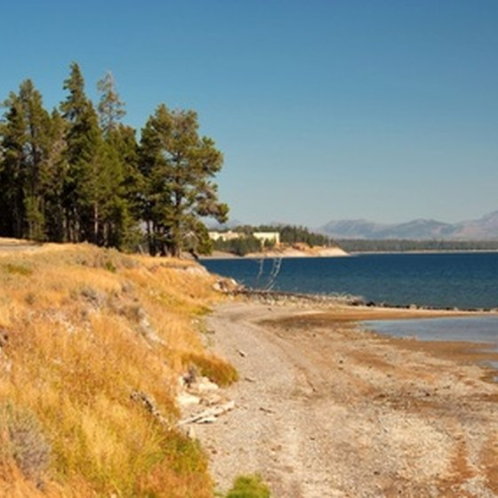 Yellowstone Lake was formed around 600,000 years ago.