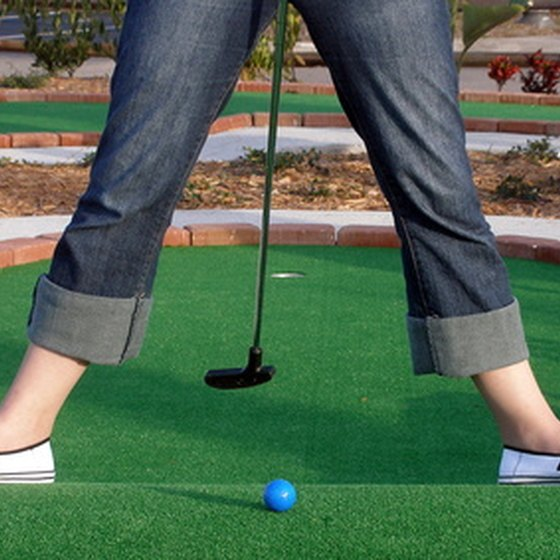 Mini golf is a popular pastime in St. Louis, MO.