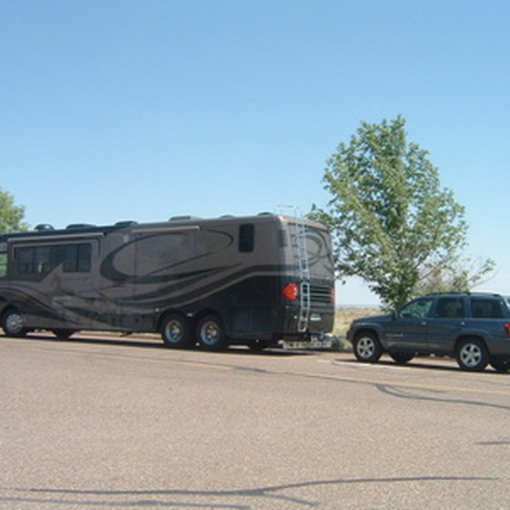 RV campers have several options in the McKinney, Texas, area.