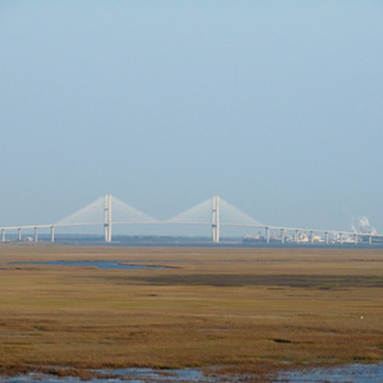 The Sidney Lanier Bridge is a familiar landmark in the Brunswick area.