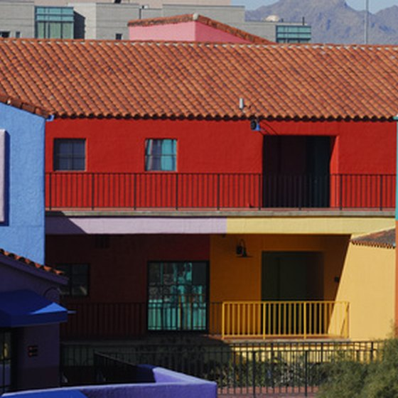 Colorful Architecture in Tucson