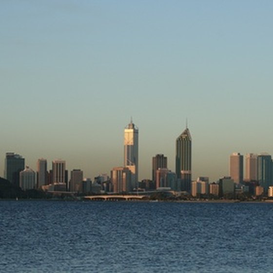Perth offers a variety of cruises for sailing along the Swan River.