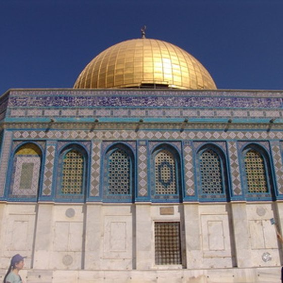 Most tours of Israel include a visit to the Temple Mount in Jerusalem.