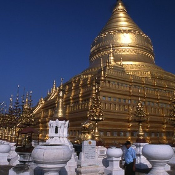 Hop on the daily train from Yangon to Bagon to check out one of Myanmar's most sacred temples, Shwezigon Paya.