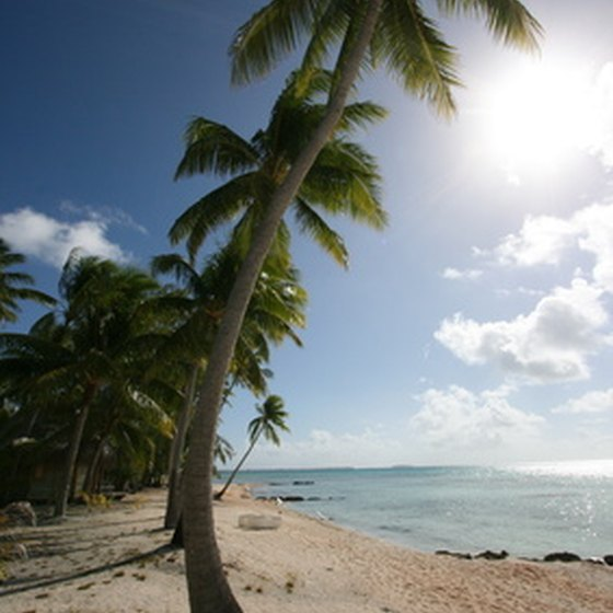 Enjoy exotic beaches, palm trees, sunsets and relaxation on the island of Tahiti.