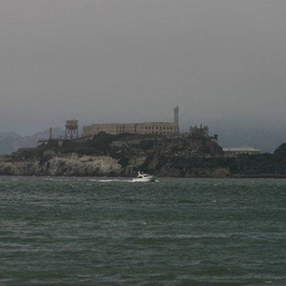 Now a historic landmark, Alcatraz is as foreboding as ever