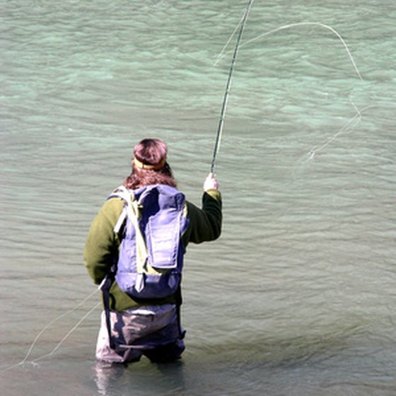 Ontario fishing lodges offer fly fishing and ice fishing.