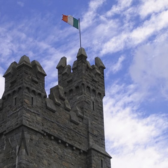 Staying in an Irish castle can fulfill a childhood fantasy.