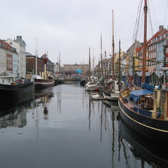 Copenhagen is built on the water.