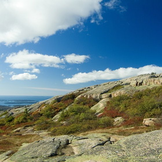 Hike Acadia's seaside trails.