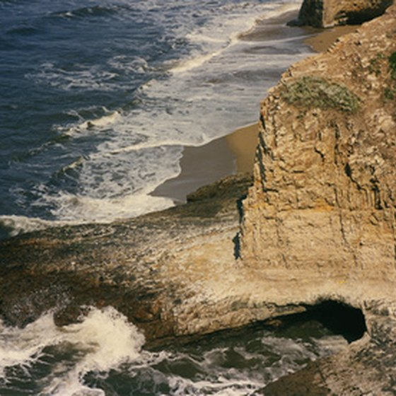 The California coast features many resorts for a beach getaway.