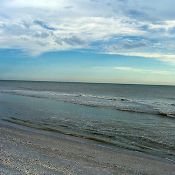 Twenty six miles of white sand beaches stretch along the Gulf Coast of Mississippi.