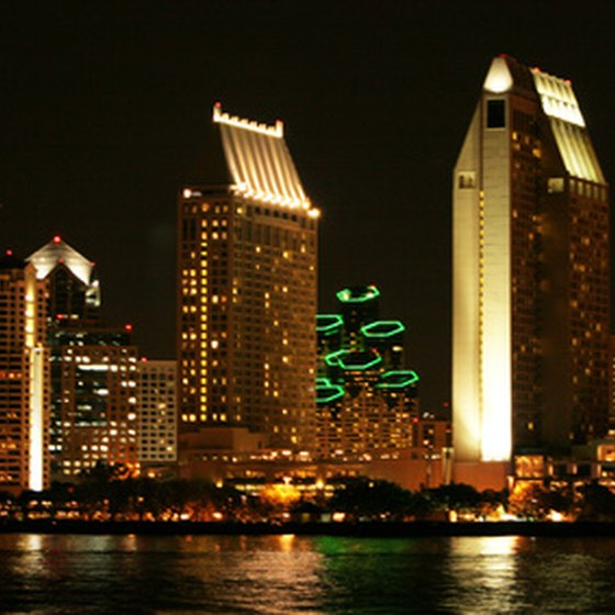 Downtown San Diego offers numerous shops, dining and entertainment opportunities