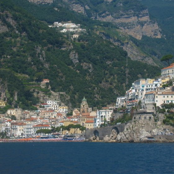 Tours to the Amalfi coast explore its architecture and natural scenery.