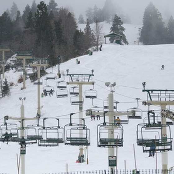 Spend A Day On The Slopes At Bear Mountain.