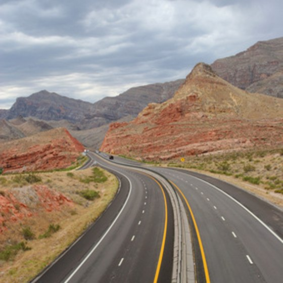 Interstate 40 traverses 342 miles of Southwestern terrain in New Mexico.
