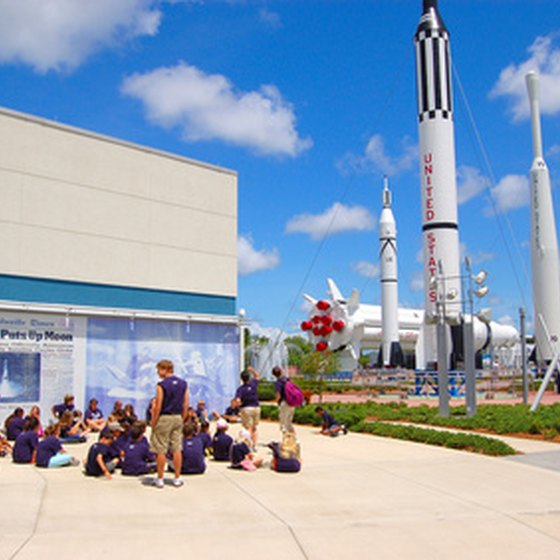 Merritt Island--Home of shuttle and rocket launches