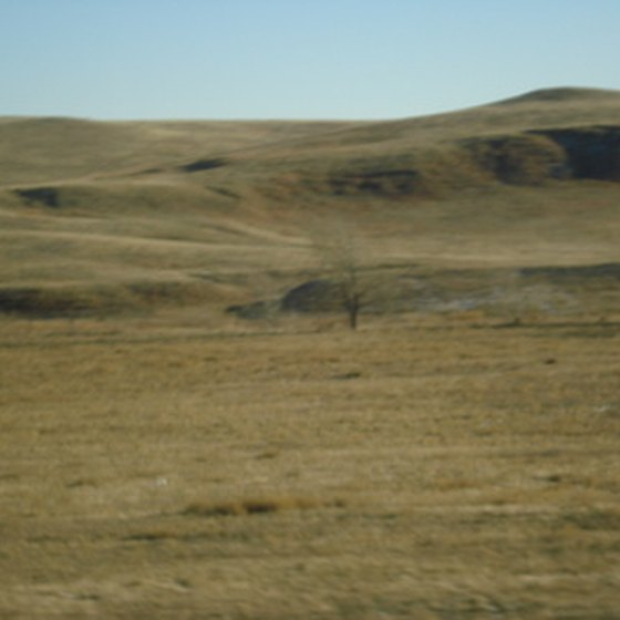 Scene from the Nebraska Sand Hills.