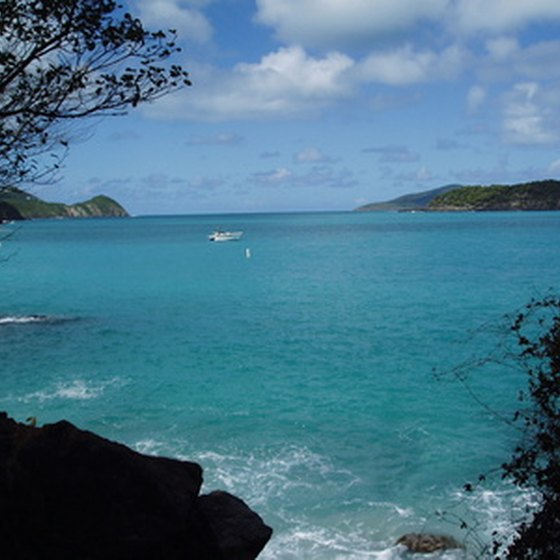 St. Thomas features turquoise beaches.