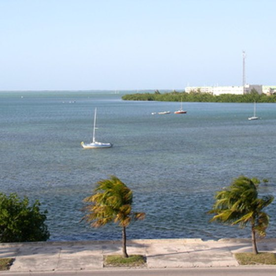 Laid-back Key West offers visitors the chance to hitch-up their RVs right on the sand.