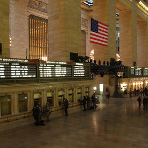 New York City's Grand Central Station main concourse area.