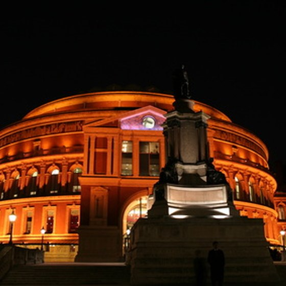 London's Royal Albert Hall.