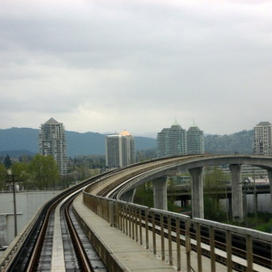 A variety of tours by land and sea begin in Vancouver, British Columbia.