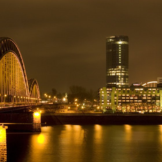 Cologne, Germany, is a popular port on many Rhine River cruises.