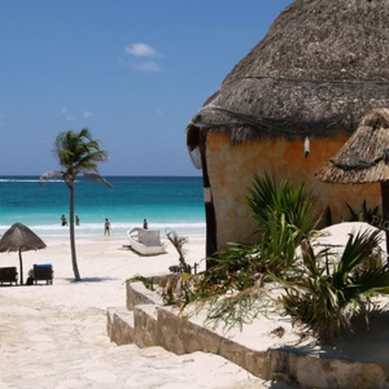 Cancun attracts many visitors each year.